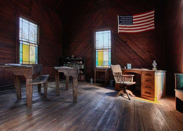 Schoolroom in Charlottesville